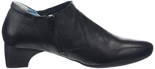Think! Nana Slipper, Chaussures à talons - Avant du pieds couvert femme Noir - Noir (00)