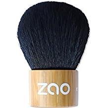 ZAO Kabuki Makeup Powder Brush Made of Bamboo for Natural Cosmetics by ZAO essence of nature