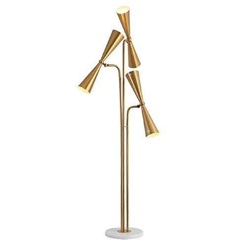 XFZK-Stehleuchte Stehleuchte Postmoderne Stehleuchte  Stehlampe mit Glühlampe for Wohnzimmer Schlafzimmer E14 Höhe: 168CM Beleuchtung (168 Glühlampe)