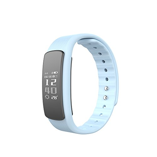 Activity Tracker, Heart Rate Monitor Smartband SUNUNITEC IP67 Waterproof 0.96