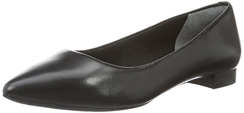 Rockport Adelyn, Ballerine Donna Nero (Black Burn Calf)