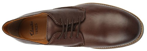 Clarks Novato Plain, Chaussures de ville homme Marron (Brown Leather)