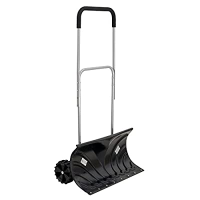 Oypla Heavy Duty Schneepflug - Push Snow Shovel Plough