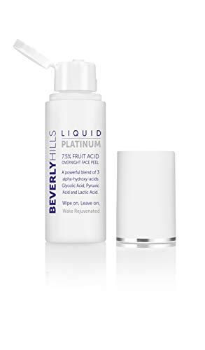 Beverly Hills Liquid Platinum – 7,5% Obstsäure für das Gesicht, mit 3 Fruchtsäuren – 50 ml