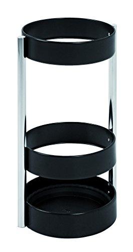 Haku-Möbel 26563 Schirmständer, 51 cm, schwarz/chrom