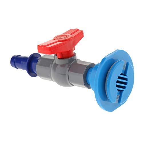 KESOTO Aquarium Regulierventil Steuerventil Wasser Durchfluss Regulierung Zubehör - Blau -