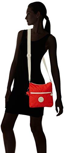 Kipling Ladies Zamor Basic Plus Capsule Shoulder Bag, Multicolore (puntini In Corallo Rosa 05m), 25x24x4 Cm Multicolore (puntini In Corallo Rosa 05m)