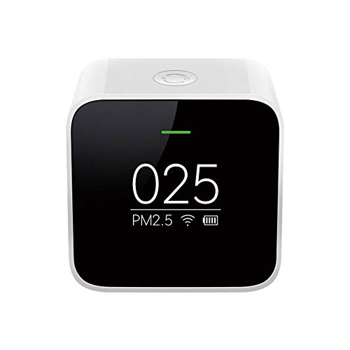 Erduo Xiaomi Mi Smart PM2.5 Détecteur Capteur Qualité de l'Air Surveillance Mode Horloge OLED WiFi 2.4GHZ APP Contrôle pour Purificateur De L'Air Mi