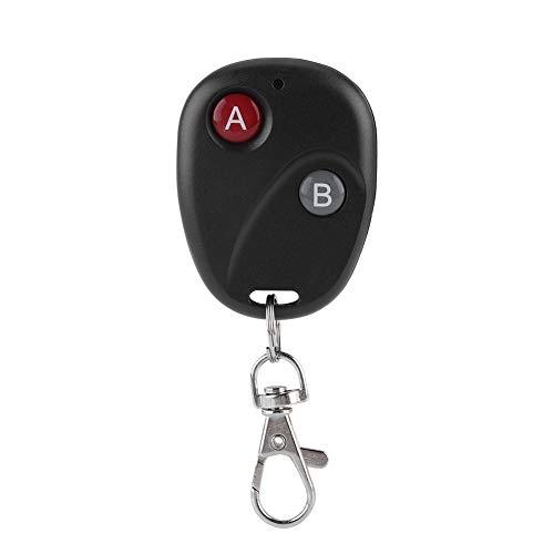 Garagentor Schlüssel Fernbedienung, Rf Remote Control Key 4 Channel Electric Garage Door Car Keys Keychain für Garagentore, Türen(2 Schlüssel) Universal-garage Door Remote