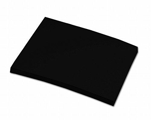 fotokarton schwarz folia 6490 Tonpapier (A4, 100 Blatt) schwarz