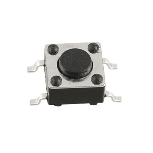 Momentary Taktile Tact 10 Stück Push Button Switch PCB SMD, 4-polig, 6 x 6 x 4,3 mm Elektrische Push Button