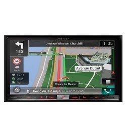 "Pioneer Naviceiver AVIC-F88DAB | High Quality Multimedia Autoradio mit kapazitivem 7"" Zoll Doppel Din Radio mit Navi | DAB+ | Bluetooth Freisprechfunktion | RDS-TMC | Touchscreen | CD/DVD Player |HDMI | AV | USB | AUX |"