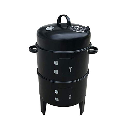 GYH-CHU Barbacoa Barbacoa de carbón Rejillas portátiles Plegables Parrillas livianas y pequeñas...