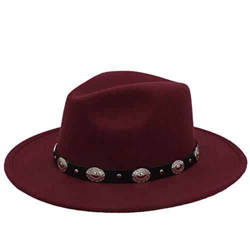 Billig Herren Fedora Hüte - WANGXINQUAN Heißer billig Unisex Wolle Jazz