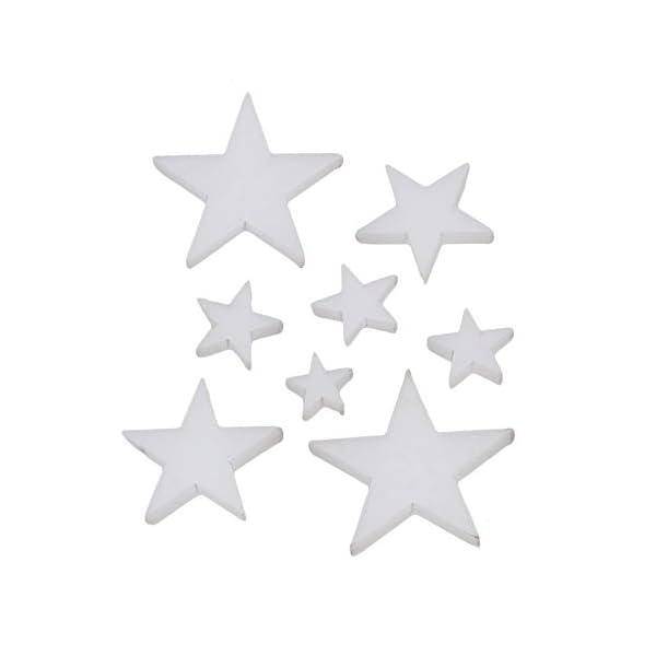 Acrilico bianco Tappi Chitarra Tasti Pip dots evidenziatore per chitarra in palissandro–Set di 8