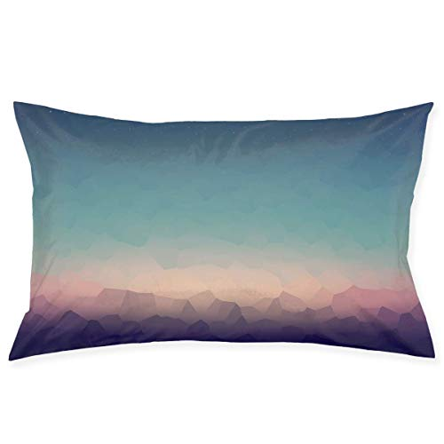 Pillow Protector Abstract Natural Views Painting Standard Size 20x30 Inches Zippered Pillowcase Pillow Cover (Body Halloween Painting Ideen)