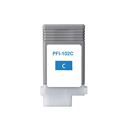 Galleria fotografica Inchiostro cartuccia alternativa a Canon PFI-106102C (ciano, 130ML, CON I più recenti Chip)