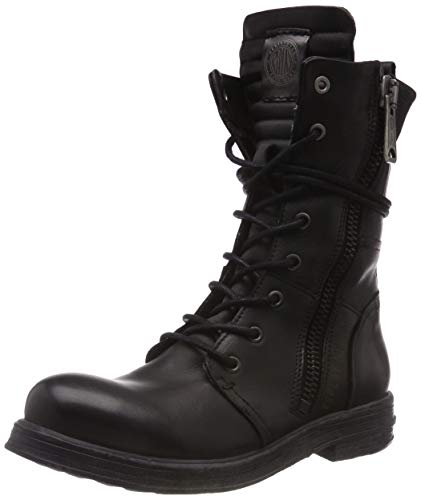 Replay Damen EVY Biker Boots, Schwarz (BLACK 3), 40 EU