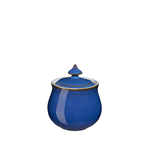 Denby Imperial Blue Speiseteller 2-Pound Covered Sugar Bowl Blue Sugar Bowl
