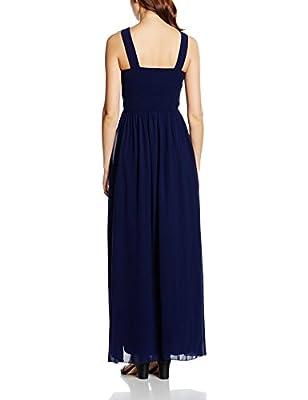 Little Mistress Women's Embellished Empire Maxi Dress