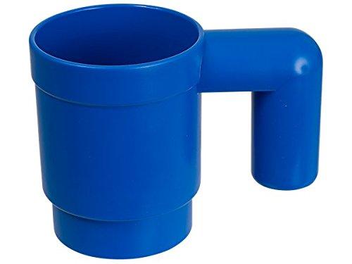 LEGO gehobener Tasse–blau