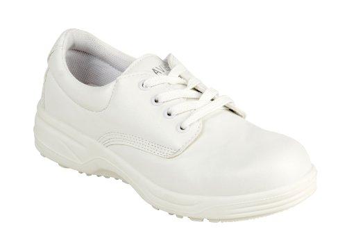 Parent Units Beaver 300 S1 Hygiene Shoe, Scarpe di Sicurezza Uomo Bianco (Weiß)