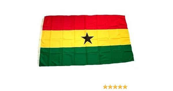 Flagge Fahne Ghana 150x90cm Formel 1 Memorabilia