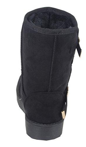 trendBOUTIQUE - Stivali Donna Nero (nero)