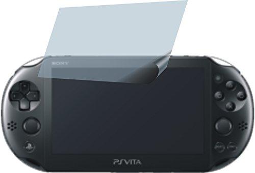 Sony PS Vita PCH-2000 (4 Stück) PREMIUM Displayschutzfolie Bildschirmschutzfolie ANTIREFLEX - KRATZFEST UND PASSGENAU