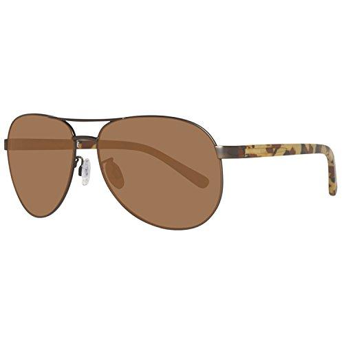 Timberland sonnenbrille tb9086 6249h, occhiali da sole uomo, marrone (braun), 65