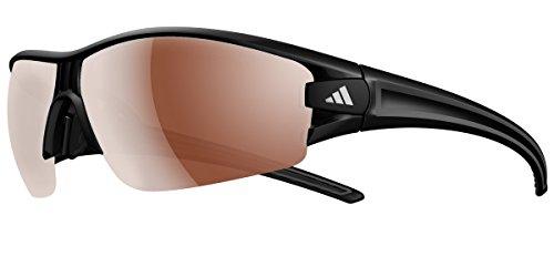 adidas Eyewear Evil Eye Halfrim L Polarized, Farbe Marrã³ n, Schwarz