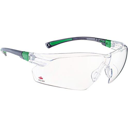 NoCry Schutzbrille mit durchsichtigen Anti-Beschlag und kratzbeständigen Gläsern, Seitenschutz und...