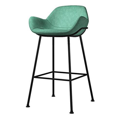 Barhocker Multicolor Breakfast Küchentheke Barstühle Fußstütze mit Lederpolsterung Esszimmerstuhl for die Küche |Pub |Café Hocker max.Laden Sie 200 kg