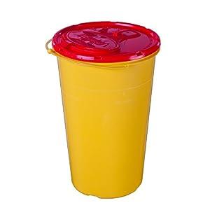 Brinkmann Medical 111999 Kanüleneimer, 2 Liter, gelb