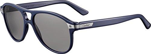 Preisvergleich Produktbild Cartier Herren Sonnenbrille Blau Blue
