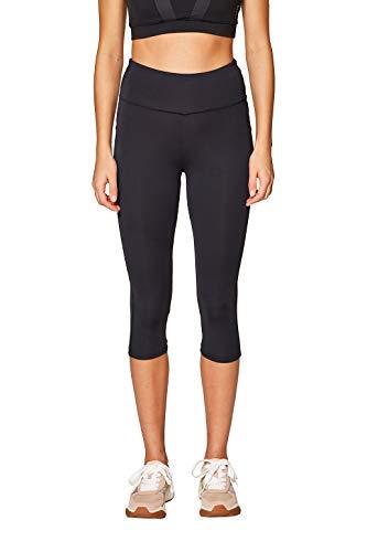 ESPRIT Sports Damen Tight Edry sl Sporthose, Schwarz (Black 001), W(Herstellergröße: XL)