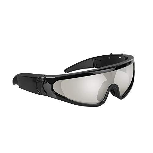 Digital Video Spy Kamera (J.SPG Skibrille Snowboardbrillen Digitaler Videorecorder der Kamera Versteckte Kamera mit Video Spy Recorder DVR Outdoor-Sport-Action-Kamera Geeignet für tragbare Kameras, Winddichte Brille)