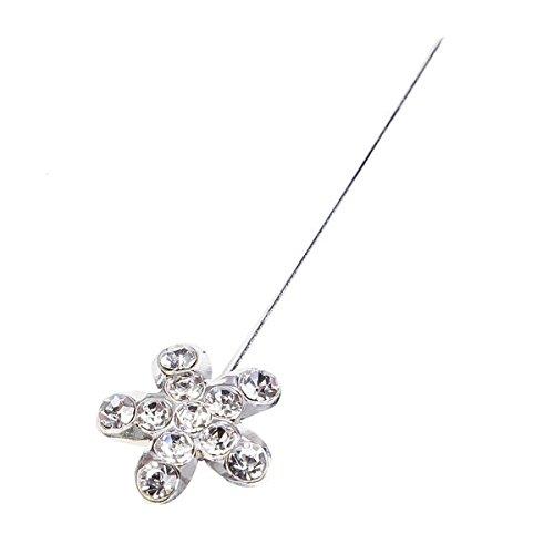 Lote de 24 Alfileres Flor con capuchon incluidos.Alfileres Baratos, Comprar Online. Alfiler, Alfileres, pins perla para Detalles de bodas