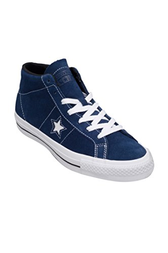 Converse One Star Pro Suede MID Navy/White/Black (11 Mens / 13 Womens)