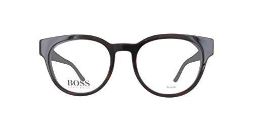 Hugo boss brillengestelle boss0889-0t919-51 montature, nero (schwarz), 51 donna