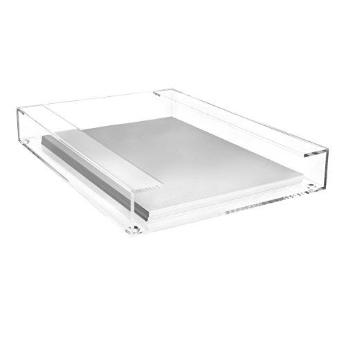 Maul Acryl-Briefablage, DIN A4, Glasklar, Stapelbar, 1950005, 1 Stück
