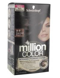 MILLION Color 3-0 Stufe 3 Espresso braun 126 ml