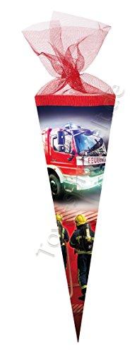 Nestler Schultüte Feuerwehr 2016 Zuckertüte Einschulung Schule Kinder: Größe: 22 cm