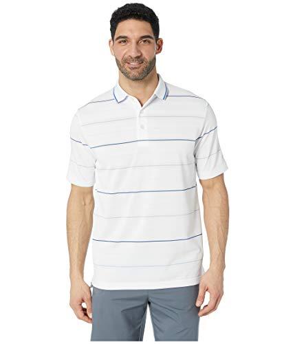 Callaway Herren Performance Short Sleeve Stripe Polo Shirt Roadmap Bright White, XX-Large