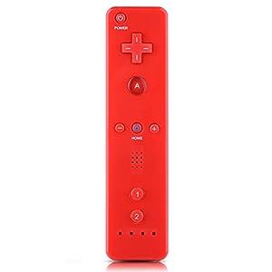 Fdit Fernbedienung Remote Controller Motion Plus mit Polso Band & Schutzhülle aus Silikon Giochi Combo für Nintendo Wii U Wii U