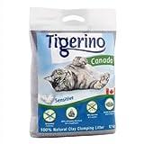 Doppelpack Tigerino Canada Katzenstreu – Parfümfrei 2 x 15kg - 2