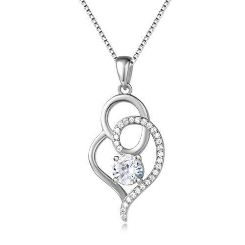 Echt 925 Sterling Silber | mit Geschenkverpackung | verlängerbar auf 50cm | Geschenkidee für Sie...