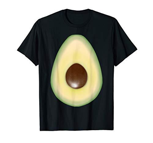 Avocado Kostüm Damen - Fasching Kostüm Avocado Shirt für Fasnacht