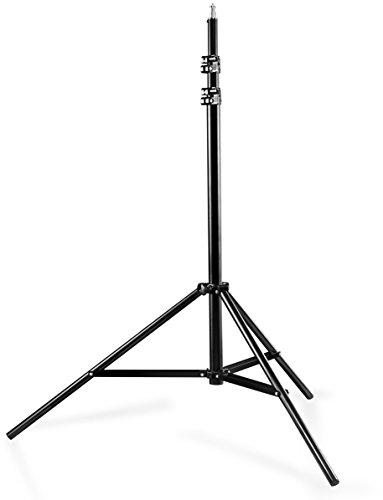 Walimex Pro WT-806 Lampenstativ (max. Höhe 256 cm und Federdämpfung)