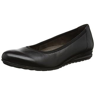 Gabor Shoes Damen Comfort Sport Geschlossene Ballerinas, Schwarz (57 Schwarz), 37.5 EU